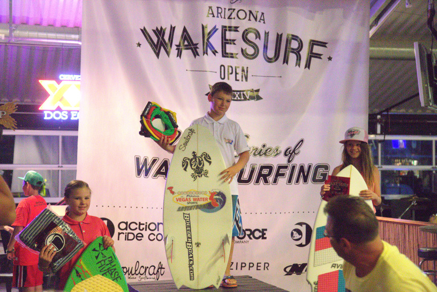 amanda and branden sorensen wins wake surfing