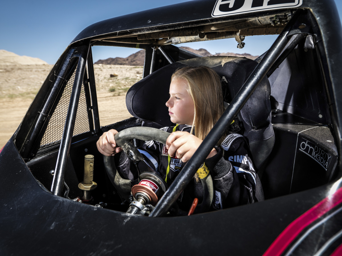 amanda sorensen trophy kart photo