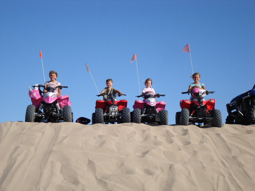 sorensen motorsports family at dunes