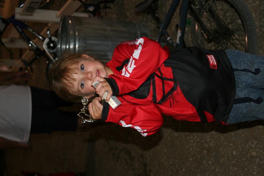 amanda sorensen bmx trophy