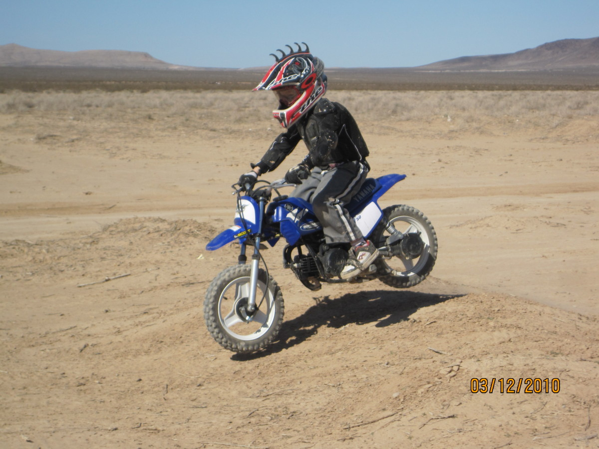 branden sorensen riding dirt bike