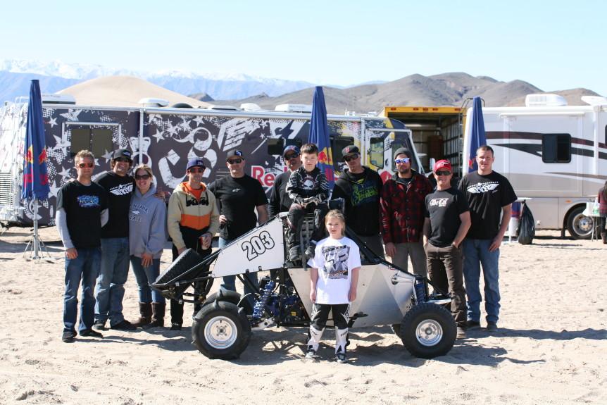 sorensen motorsports go kart team