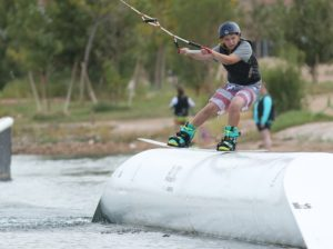 branden sorensen shredding wake board